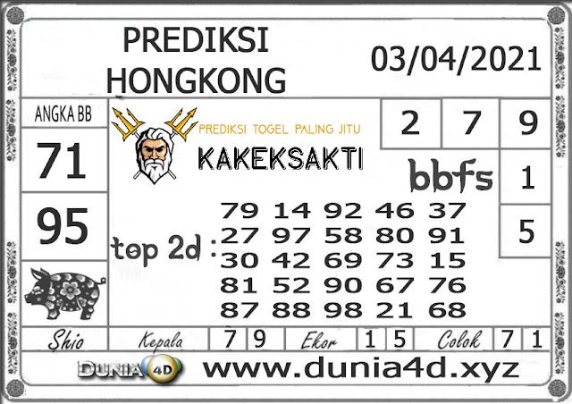 Prediksi Togel HONGKONG DUNIA4D 03 APRIL 2021