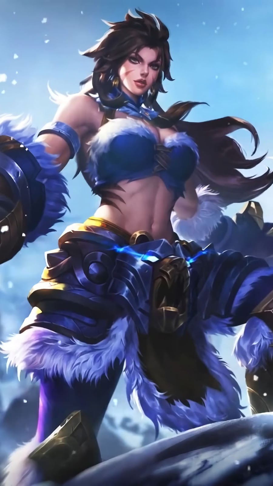 Wallpaper Masha Winter Guard Skin Mobile Legends HD for Android and iOS