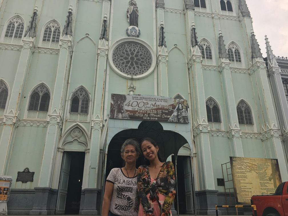 visita iglesia manila 2018