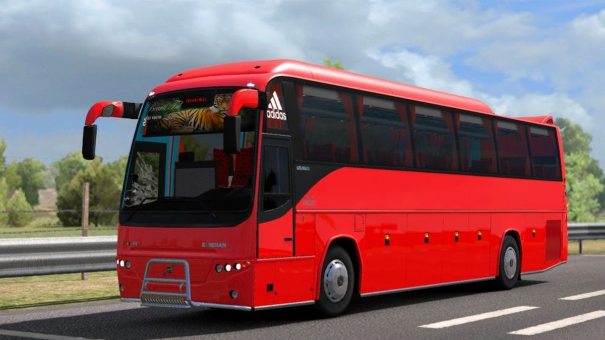 Bus Volvo B12B TX - Passenger Mods & Template