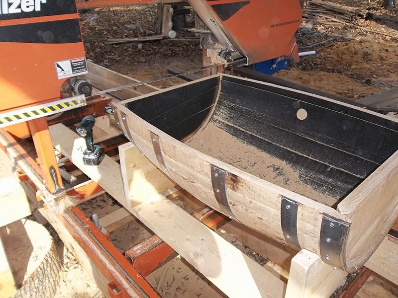 Wood-Mizer LLC: Wood-Mizer LT15 Helps Build 'True' South