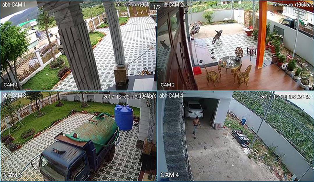 lắp camera giám sát cho hộ gia đình