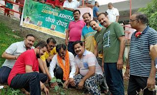 पर्यावरण को बचाना है, खूब पौधे लगाना है  | #NayaSaberaNetwork
