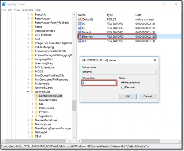 how to connect to internet on windows 7 with ethernet
