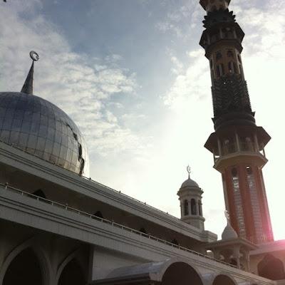 Masjid Raya Pematang Siantar.
