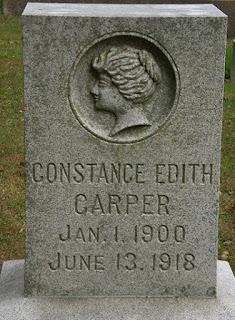 Constance Carper Grave
