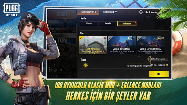 PUBG Mobile New Infection Mode