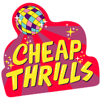 Cheap Thrills Sticker