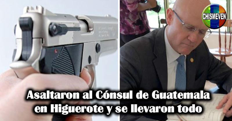 Asaltaron al Cónsul de Guatemala en Higuerote y se llevaron todo