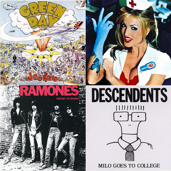 50 greatest pop-punk albums of all time