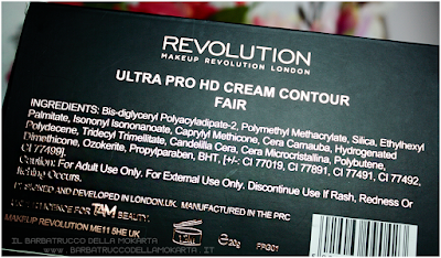 ultra pro hd cream contour makeup revolution