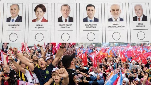 HASIL SEMENTARA PEMILU TURKI Erdogan Pimpin Perolehan Suara