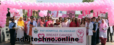breast cancer,cancer,breast,breast cancer treatment,breast cancer awareness,islamabad,breast cancer screening,islamabad breast cancer awareness campaign,how to treat breast cancer,first lady speech on breast cancer,symptoms of breast cancer,remedies for breast cancer,treating breast cancer,breast pain,mrs. samina alvi speech on breast cancer,breast cancer speech,breast cancer support,breast cancer in women,walk to PAF,walk,islamabad,breast cancer,breast,latest breast cancer,breast cancer walk,public,awareness,woman walk,hospital,Begum Mujahid,ceremony;
