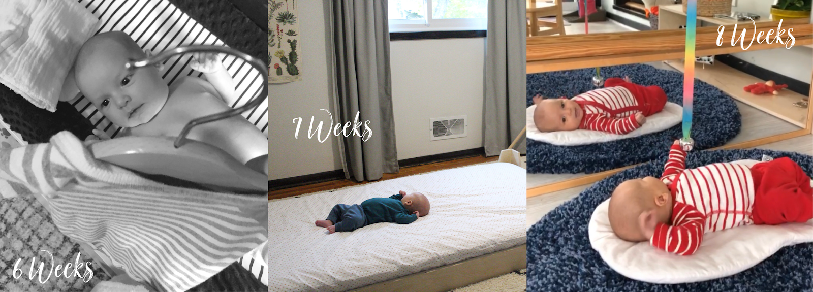 12 Montessori activities for the first 12 weeks of life!