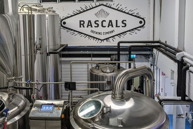 Touring Rascal's Brewery in Dublin