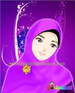 download kartun muslimah terbaru gratis