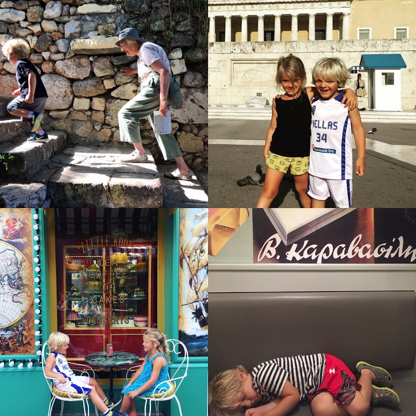 Greece Trip Part 1: Athens With Kids