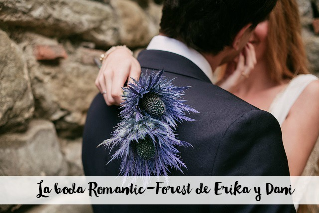 La boda romantic-forest de Erika y Dani