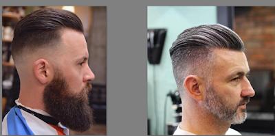 Haircut Slick Back, Model Rampur Pria terbaru 2019