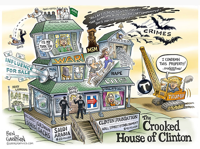 UPDATES ~ Have just been told FBI in New York talking to Hilary Crooked%2Bhouse%2Bof%2Bclinton