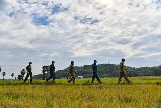 Kiên Giang: Tăng cường Hải đội dân quân chống dịch trên tuyến biên giới