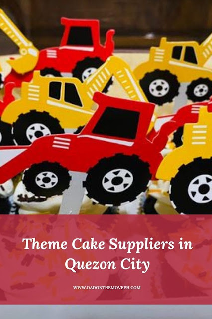 List of theme cake suppliers in Quezon City