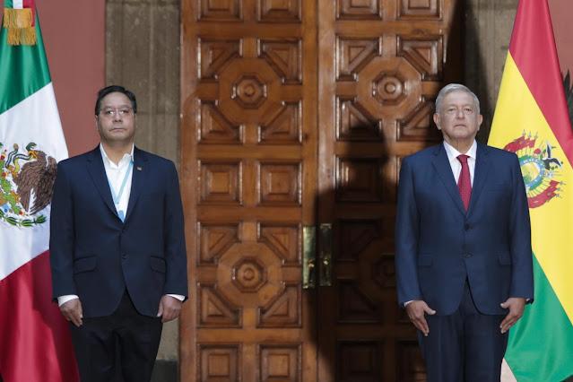México acuerda con Bolivia supresión de visas, acceso justo a las vacunas COVID-19 y exhortar a la OEA a respetar la democracia