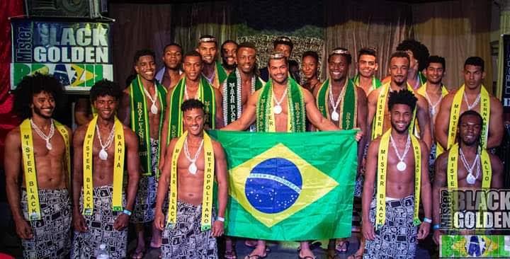 Renan Santiago é eleito Mister Black Golden Brazil 2019