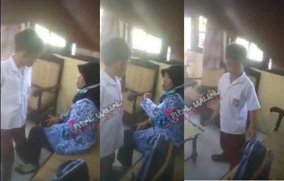 Video Anak SD Berani Menantang Ibu Guru Hebohkan Netizen