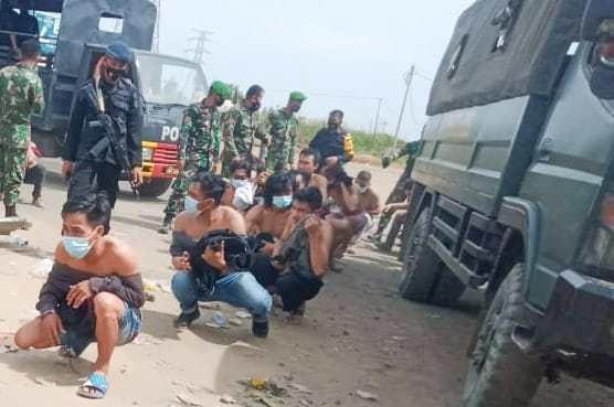 Polisi Tangkap Lima Demonstran Berujung Pembakaran Perusahaan China PT VDNI