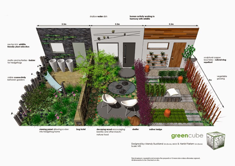 Greencube Garden And Landscape Design UK May 2014