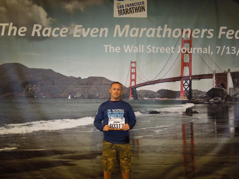 Jason San Francisco Marathon Expo 2012