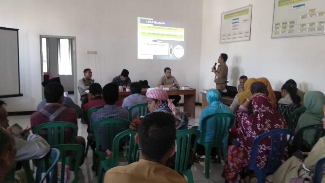 Desa Kedaro Berkomitmen Menjadi Desa ODF.