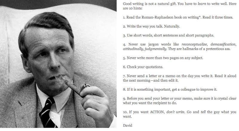 how to write - ogilvy