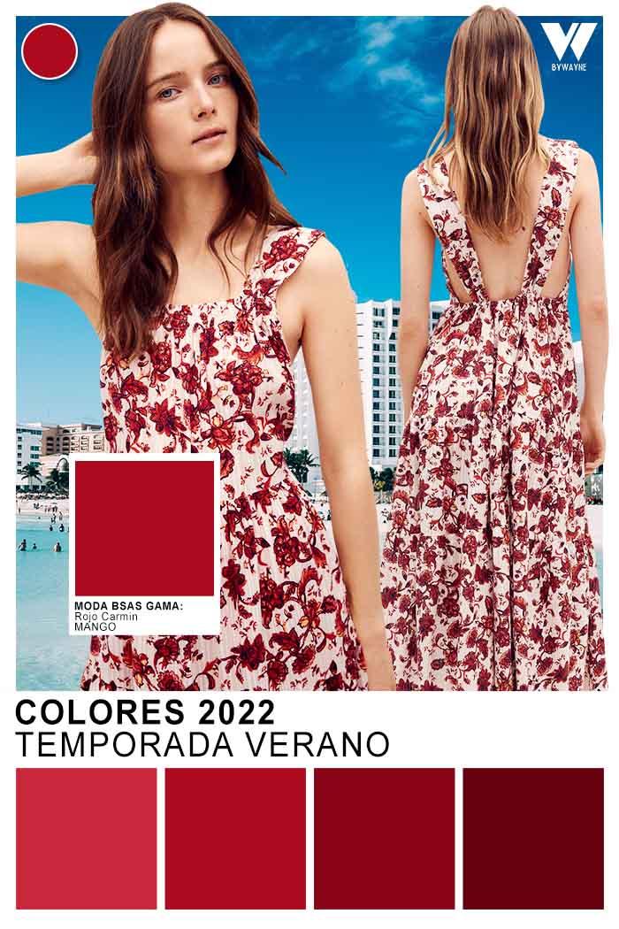 vestidos de colores primavera verano 2022