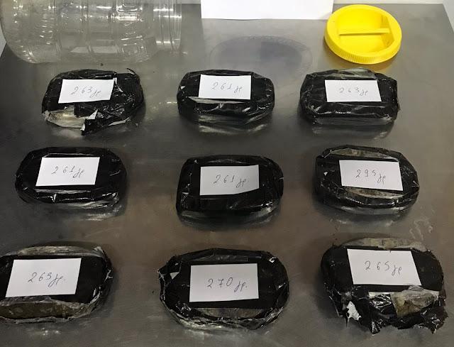Ακόμα ένα χτύπημα στο εμπόριο ναρκωτικών – Κατασχέθηκαν 2,4 κιλά ηρωίνη (+ΒΙΝΤΕΟ)