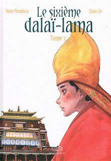 Le sixième Dalaï-Lama - tome 3 un manhua édité par les éditions Fei