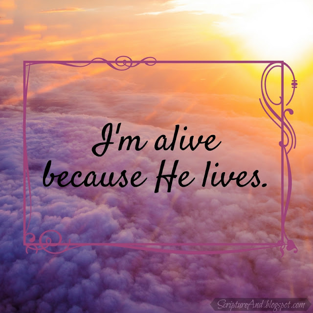 Because He Lives (Amen) sung by Matt Maher | scriptureand.blogspot.com