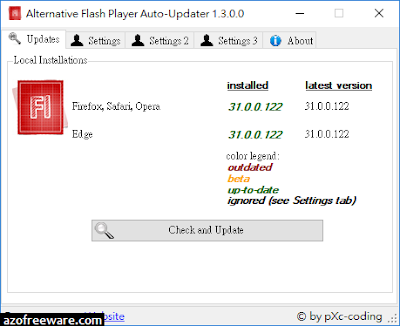 Alternative Flash Player Auto-Updater