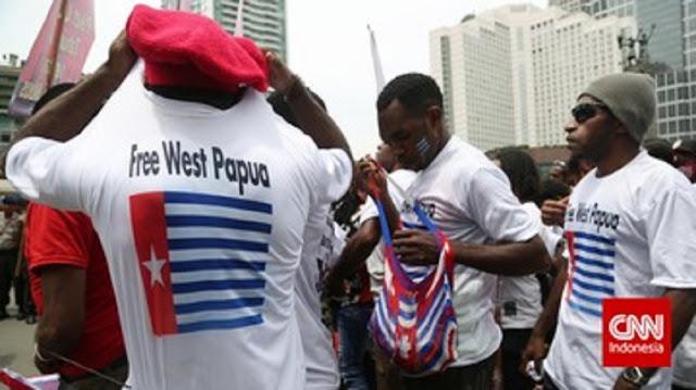 KECOLONGAN! Kader Partai Koalisi Jokowi Terbukti Bawa Bendera Bintang Kejora