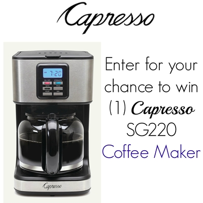 capresso coffee machine