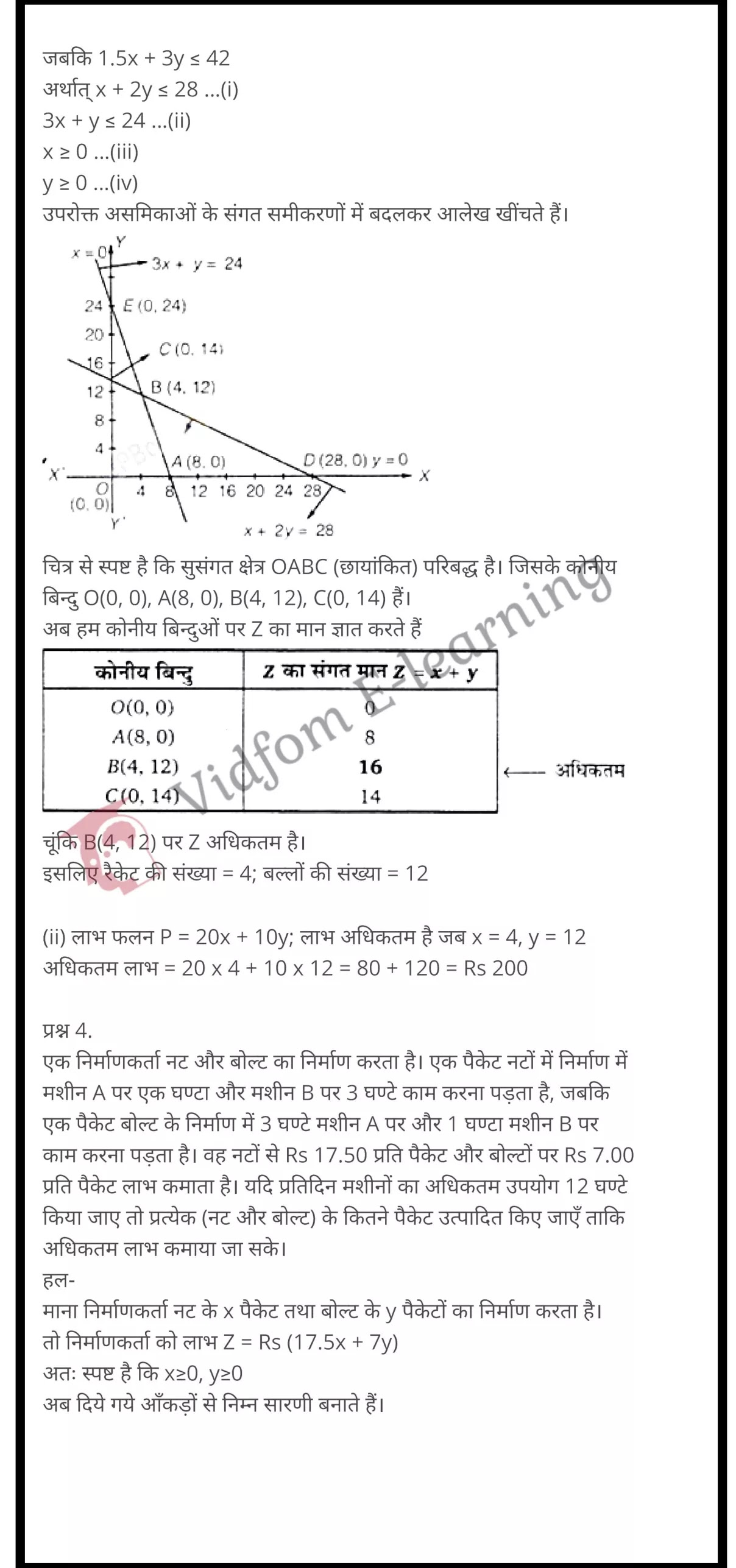 class 12 maths chapter 12 light hindi medium 11