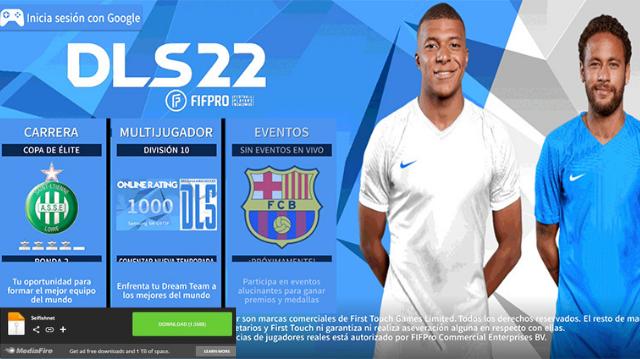 تحميل لعبة دريم ليج سوكر 2022 DLS للاندرويد بدون إنترنت من ميديا فاير