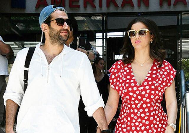 الممثل التركي مراد يلدرم وزوجته ايمان الباني يمران باوقات عصيبة