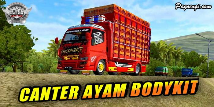 mod truck canter ayam