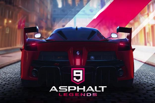 Δωρεάν παιχνίδι αγώνων για κινητά Asphalt 9 Legends