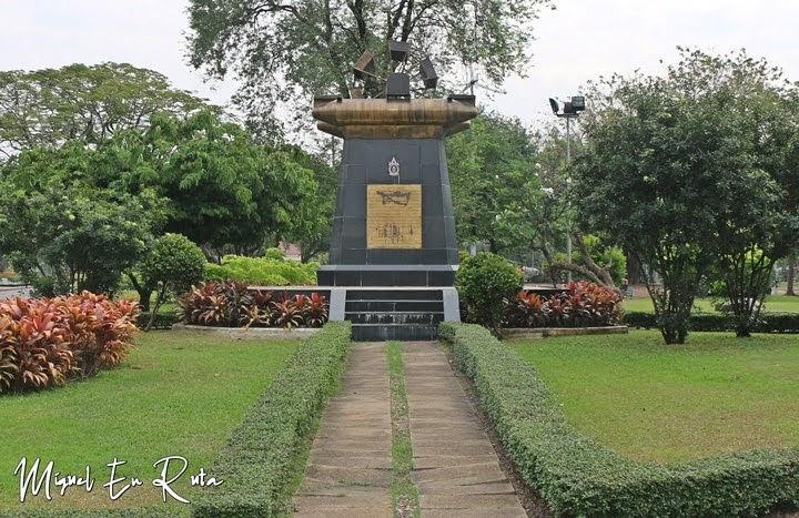 Molino en el Parque Lumpini, Bangkok