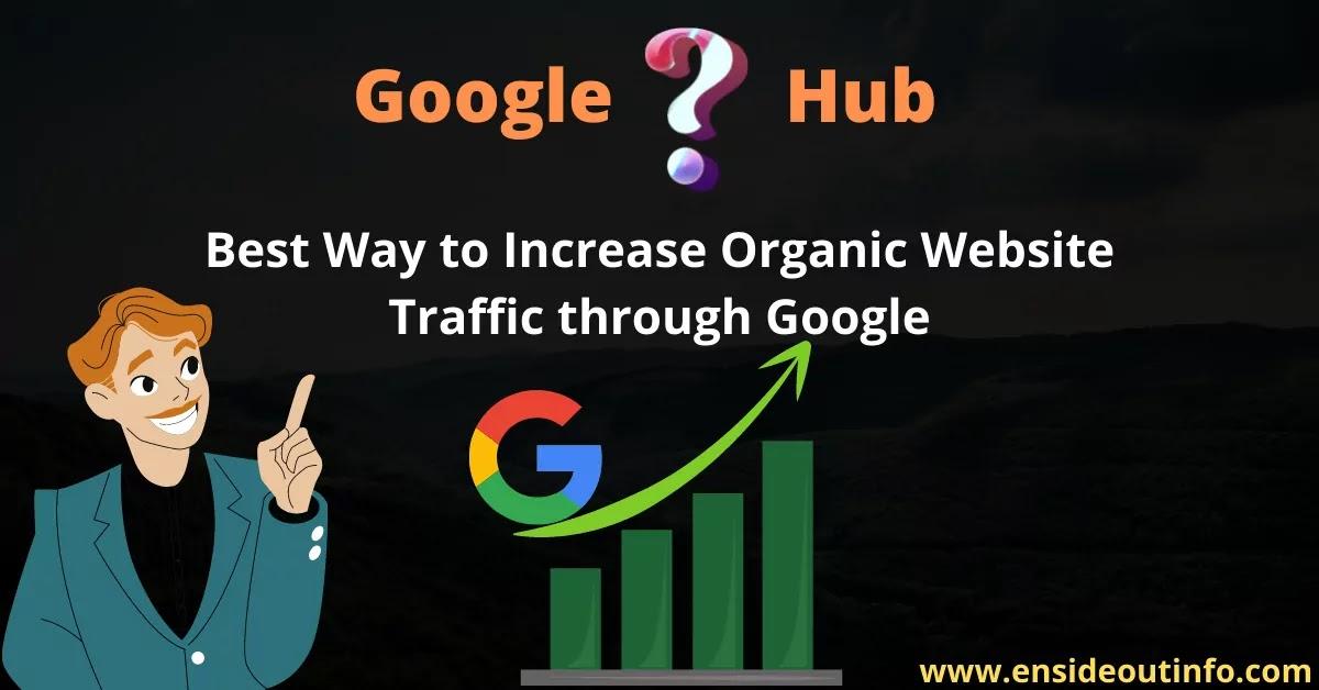 Google Question Hub: Best Way to Increase Organic Website Traffic through Google