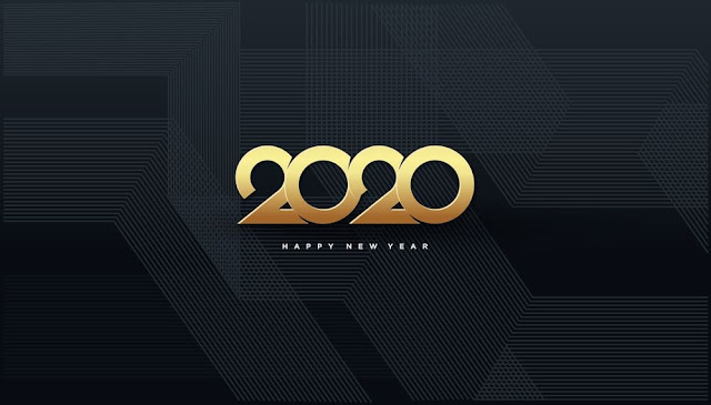 Happy New Year 2020 Wallpaper HD Images Photo Pics Download