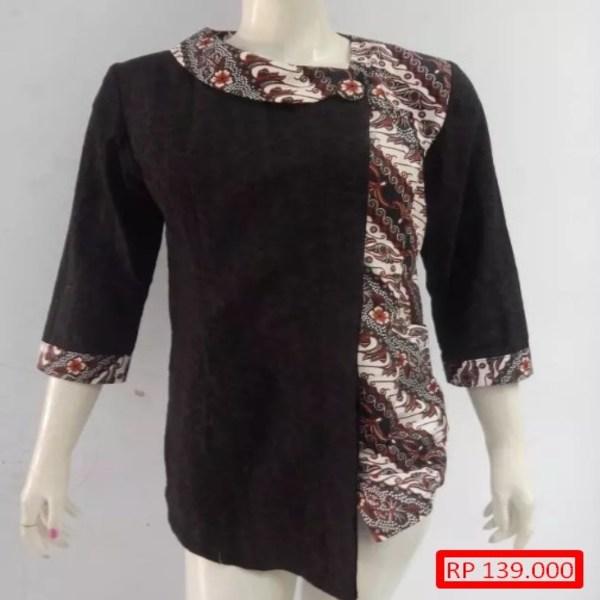 Model Baju Batik Embos Model Baju Batik Kombimasi